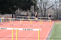 Girls Track & Field CB South vs CB West 4-10-17