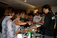 Q-town pregame dinner hosted by The Reichwein and co-hosted by the Piligian and DiBiaso families